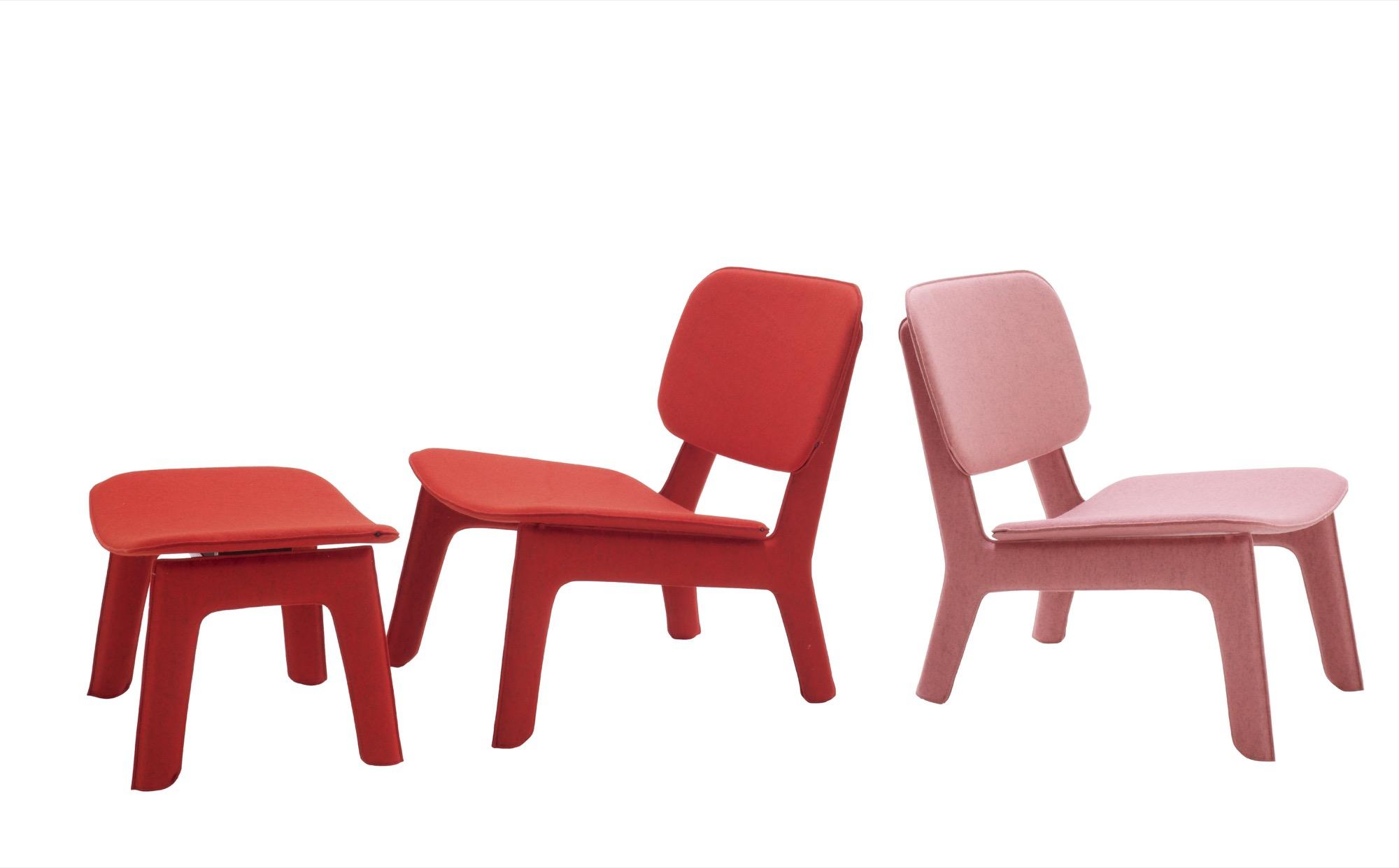 Felt Chairs by Ligne Roset / design by Delo Londo