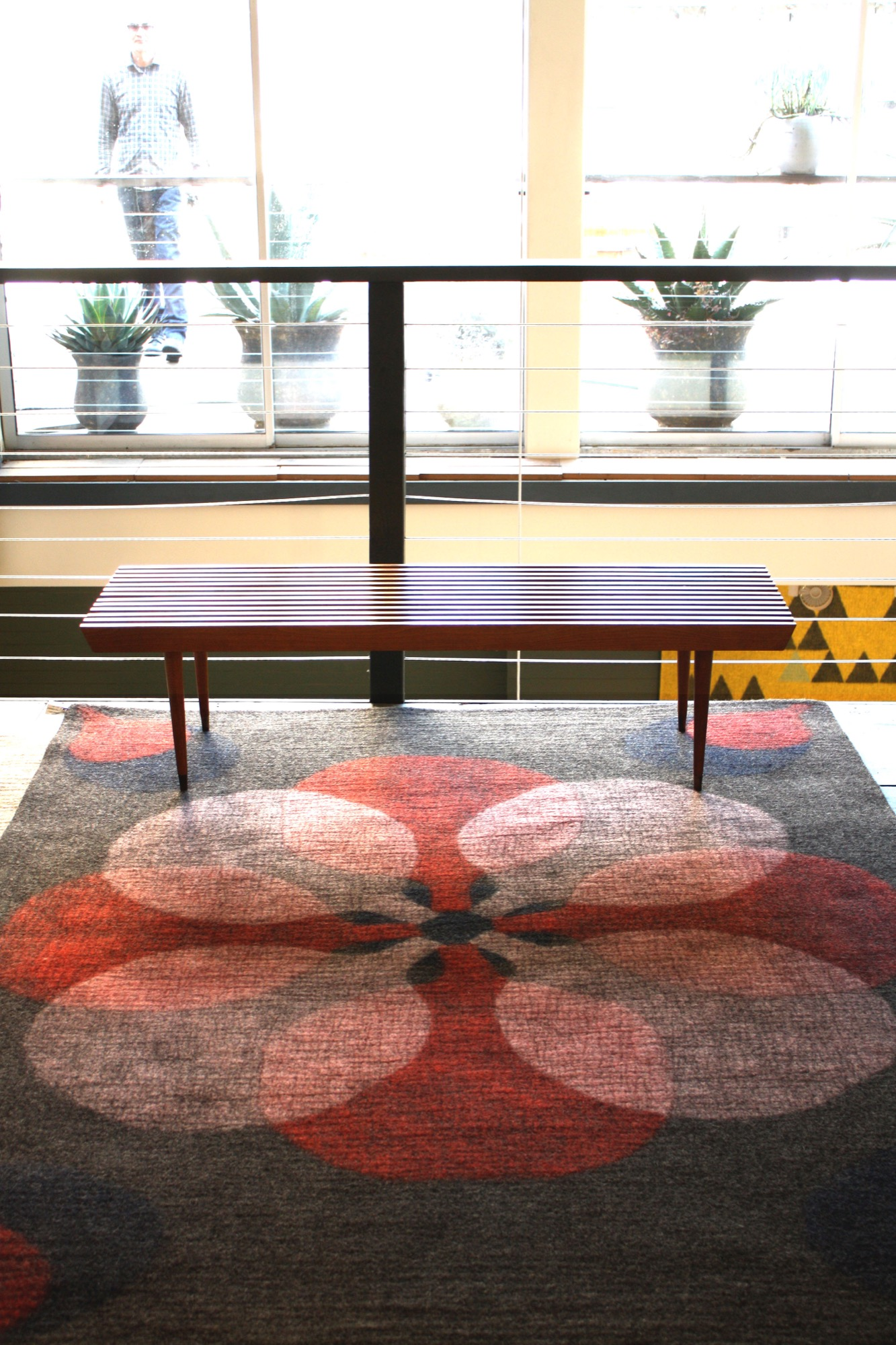Propeller rug by Peace Industry