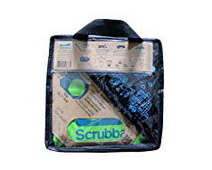 Scrubba Travel Laundry Kit - I'm not a big fan of hunting down laudromats if I'm traveling without access to a washing machine. It takes up time and you have to figure out how to get there, plus I hate waiting around to switch or retrieve my laundry. My strategy is to use on site laundry facilities when they're available, or just handwashing in a sink. This kit makes handwashing a little easier.