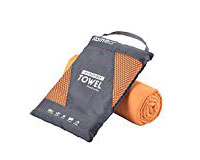 Microfiber Towel - A microfiber towel is a must have because they pack small and dry quickly. There is nothing worse than a wet towel smelling up your luggage, and they take forever to dry. I use towels like this for both the bathroom and the beach.