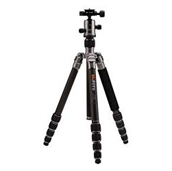 MeFOTO Carbon Fiber Roadtrip Tripod - This tripod is compact enough that I can fit it inside most bags instead of strapping it to the outside. The carbon fiber is also a lot lighter than a typical metal tripod. I'm always trying to save space and travel as light as possible so this tripod is a must.