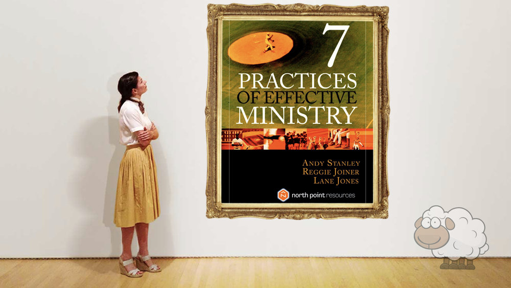 Andy Stanley, Reggie Joiner, and Lane Jones.   Seven Practices of Effective Ministry   .  Multnomah Books, 2008 (Kindle Edition), 194 pp. $13.99.