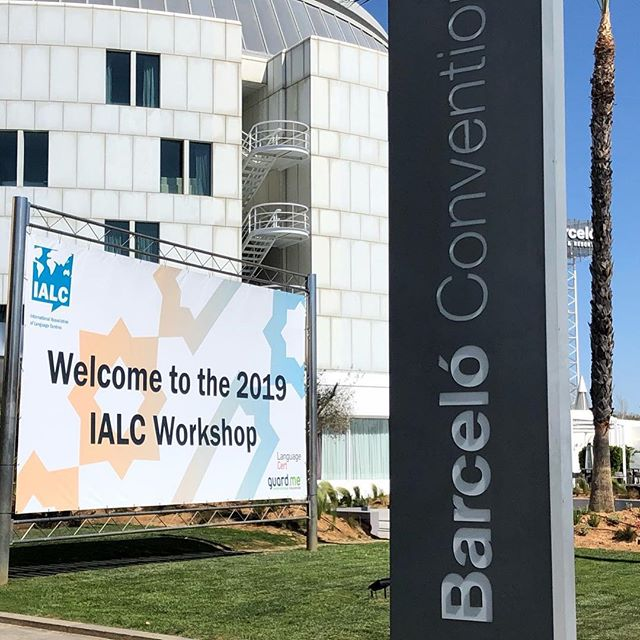 We are excited for the start of the @ialc.languages 2019 conference in Seville and proud to see our member @languagecert as the main sponsor! #ialc2019 #media #marketing #influencermarketing