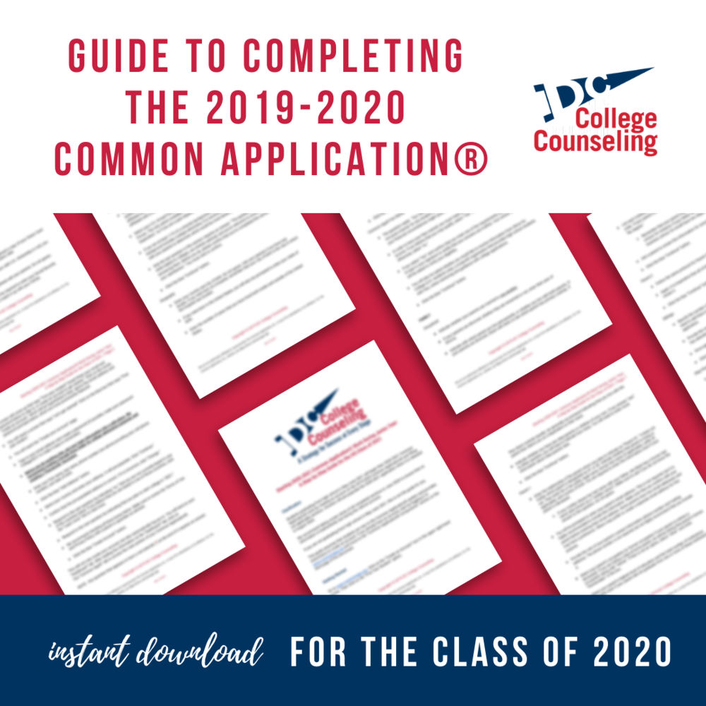 Packages and Fees — DC College Counseling