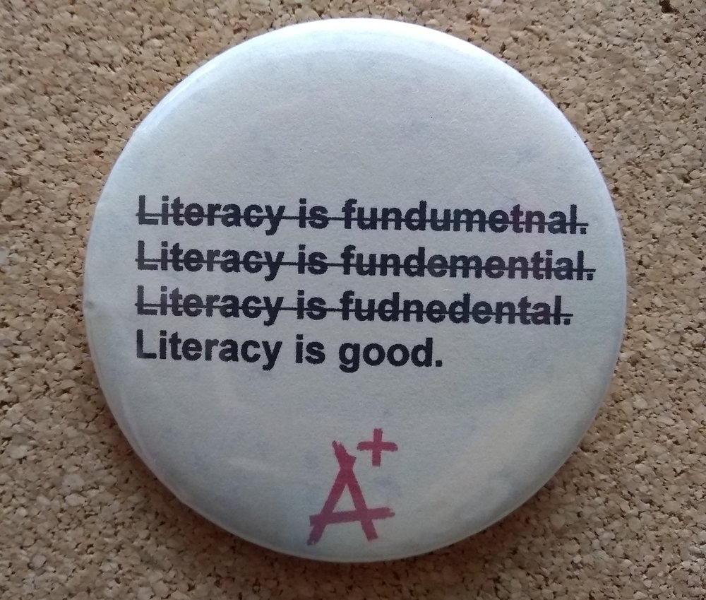 Literacy is good.