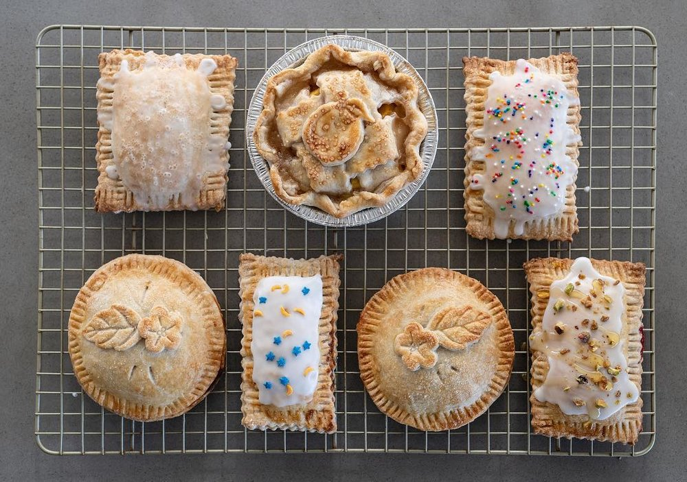 Something Sweet - Full-sized pies, mini pies, and pop tarts in the classic flavors you loved as a kid. Treats so good you won't want to share.