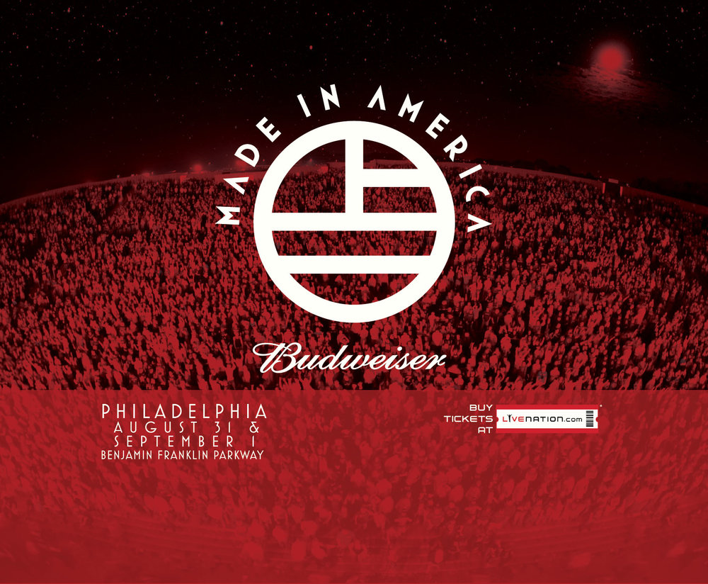 Made In Philadelphia. - Made In America is one of the largest live music events in the nation, organized by the legendary rapper and producer Jay-Z. This two-day festival features renowned musical acts from all over the world and shines a bright spotlight on the vibrant city of brotherly love.