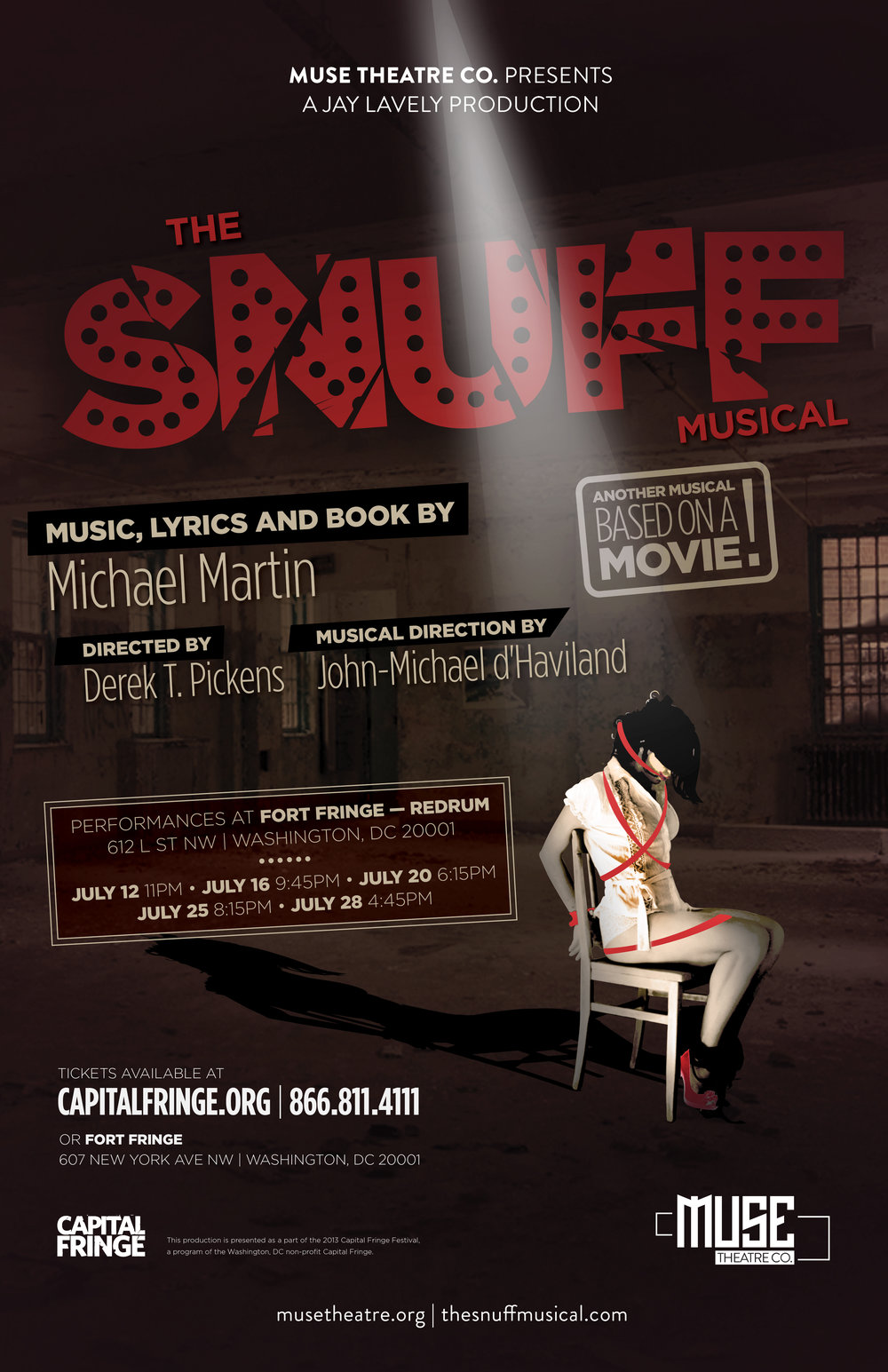 "A musical based on a ""movie."" - This is not your everyday musical. The"