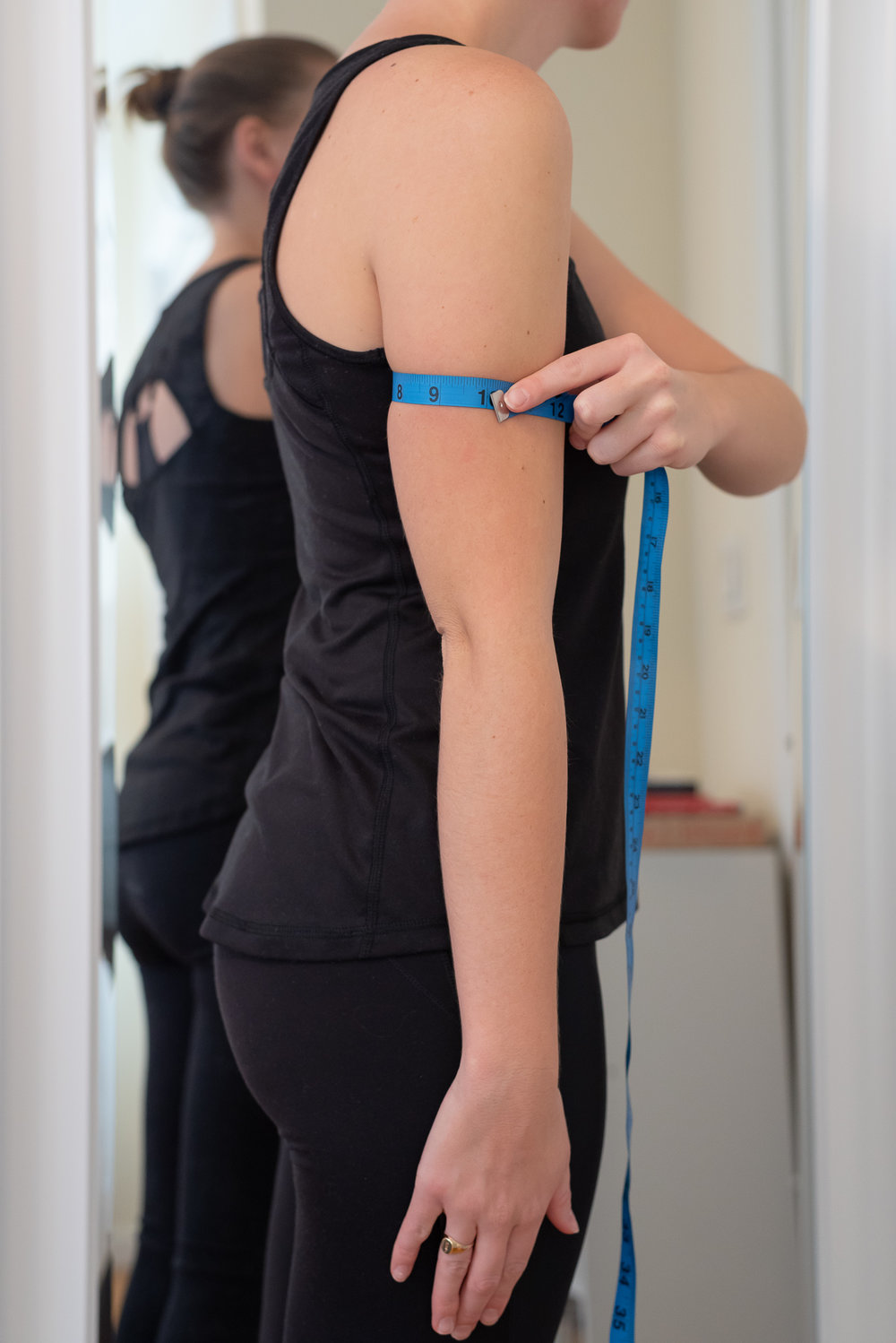 How to take your bicep or arm measurement