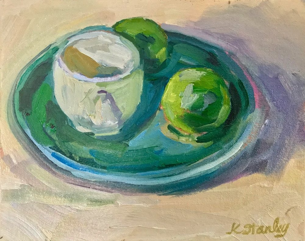 """Cup and Saucer""; 8x10"" still life study"