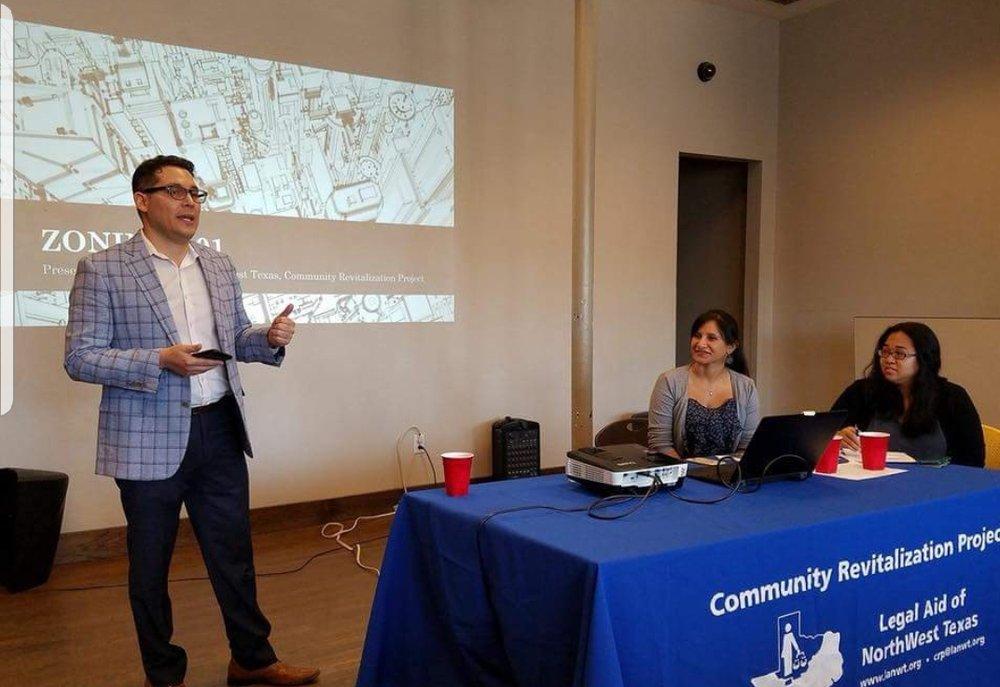 Organizando la primera reunión sobre zonificación con LANWT