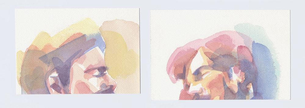 Jacob Watercolors, 1