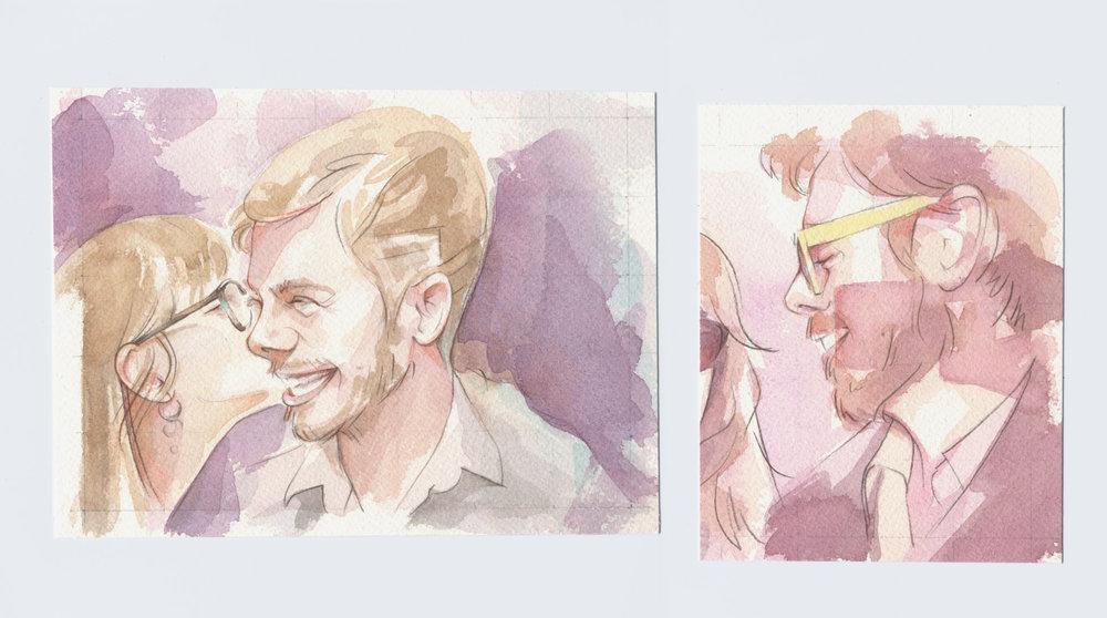 Jacob Watercolors, 2
