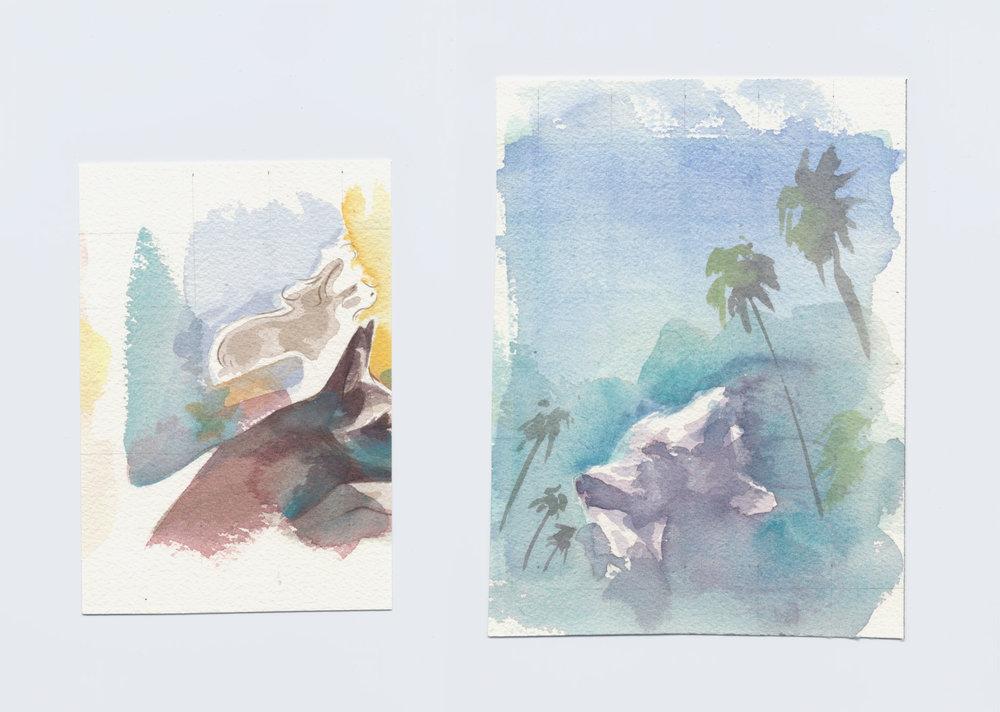 Dog Watercolors