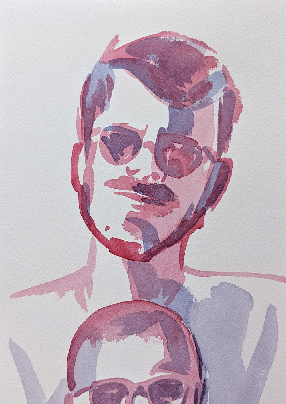 Jacob Watercolor, 3