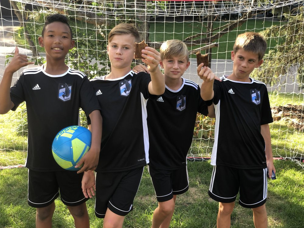 Tried and tested. - Elijah, Ty, Maclain and Henry were trained in the Level Up methodology since they were 9 year olds. Once they reached the U12 level, these four were selected by professional outfit Minnesota United to join their Development Academy.More success stories ➝