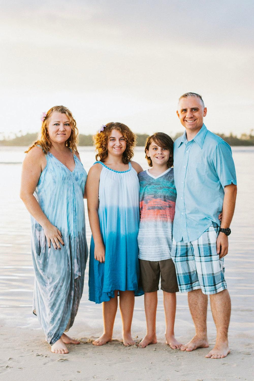 Arbogast Family - Kamehameha Beach, HI