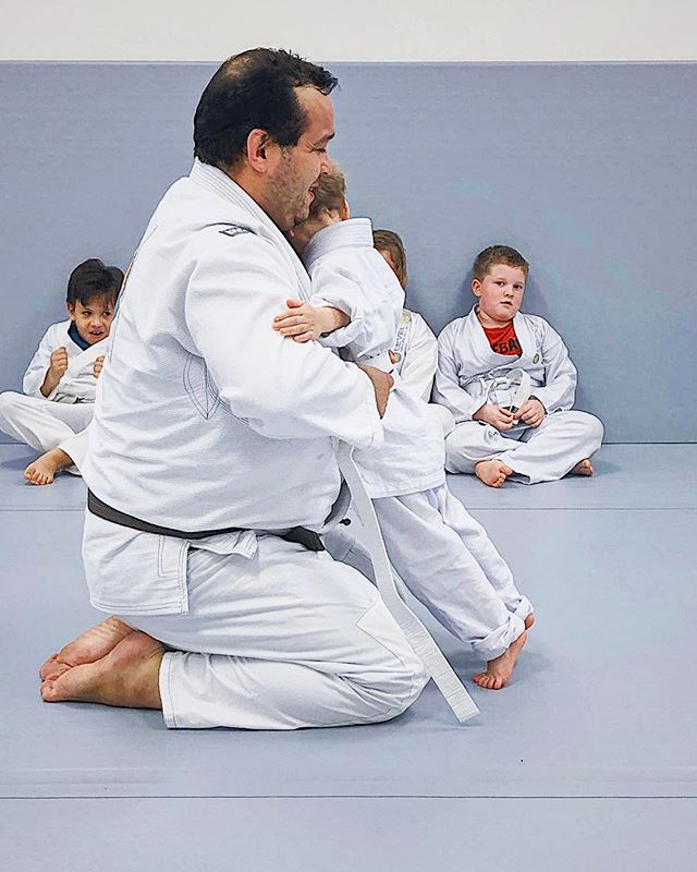 """""""I will be kind and helpful to all."""" -One key part of our Student Creed. Respect, Self Control, kindness and responsibility are part of every kids and teens Jiu Jitsu class at Level Up Brazilian Jiu Jitsu Cypress."""