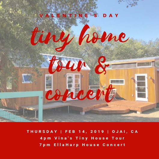 Valentine S Day Tiny House Tour House Concer Entrepinayship