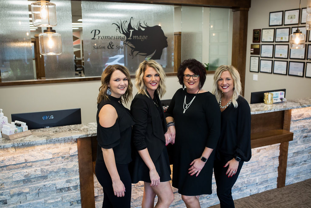 Owners of Promesing Image - Maria Promes, Kenzie Liechti, Brittany Schultes, and Lauren Promes
