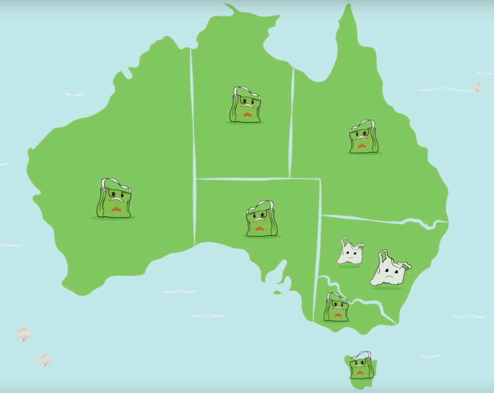 NSW is the ONLY State in Australia that has not legislated to ban single use plastic bags