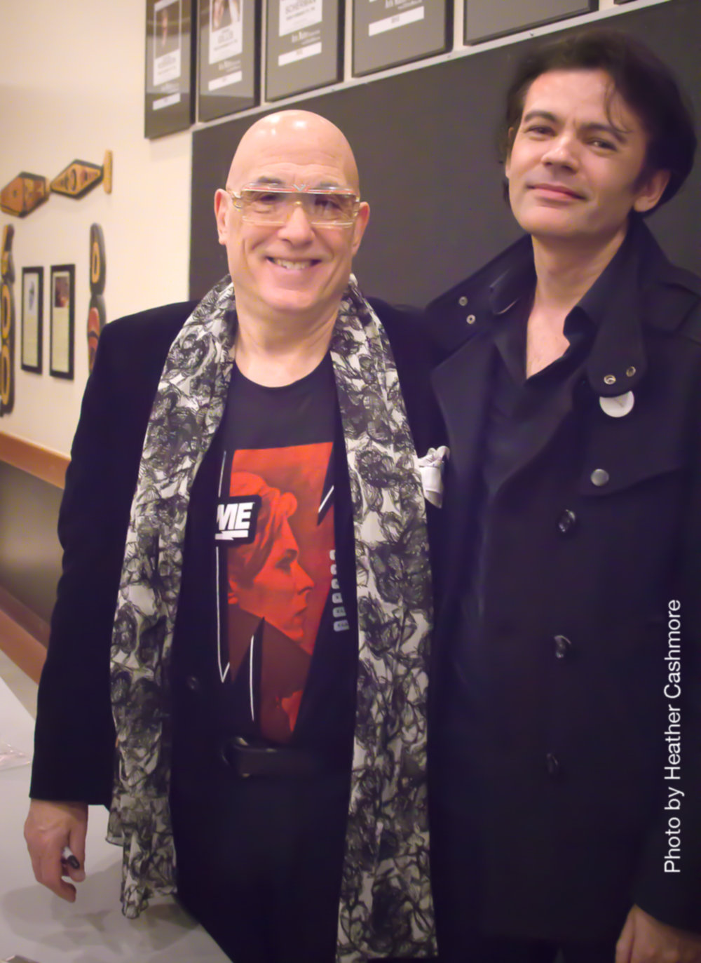 With Mike Garson