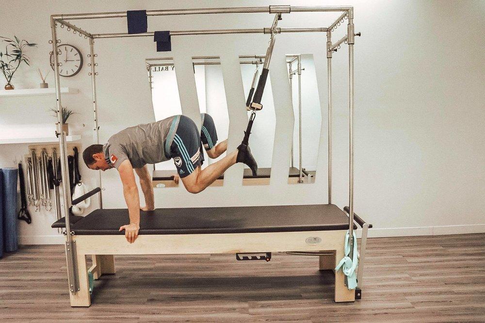 Studio Pilates Exercise