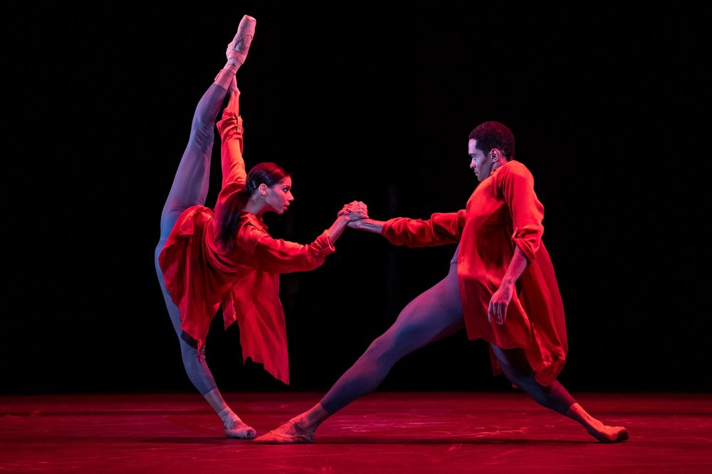 Dancers: Celine Gittens and Brandon Lawrence. Photo: Andrew Ross