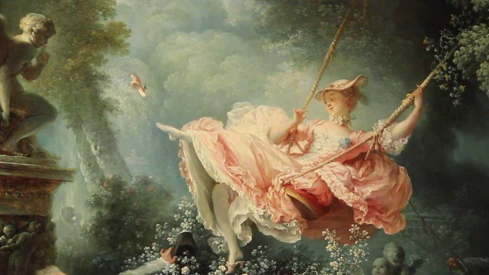 The Swing, 1767 > Jean Honore Fragonard.