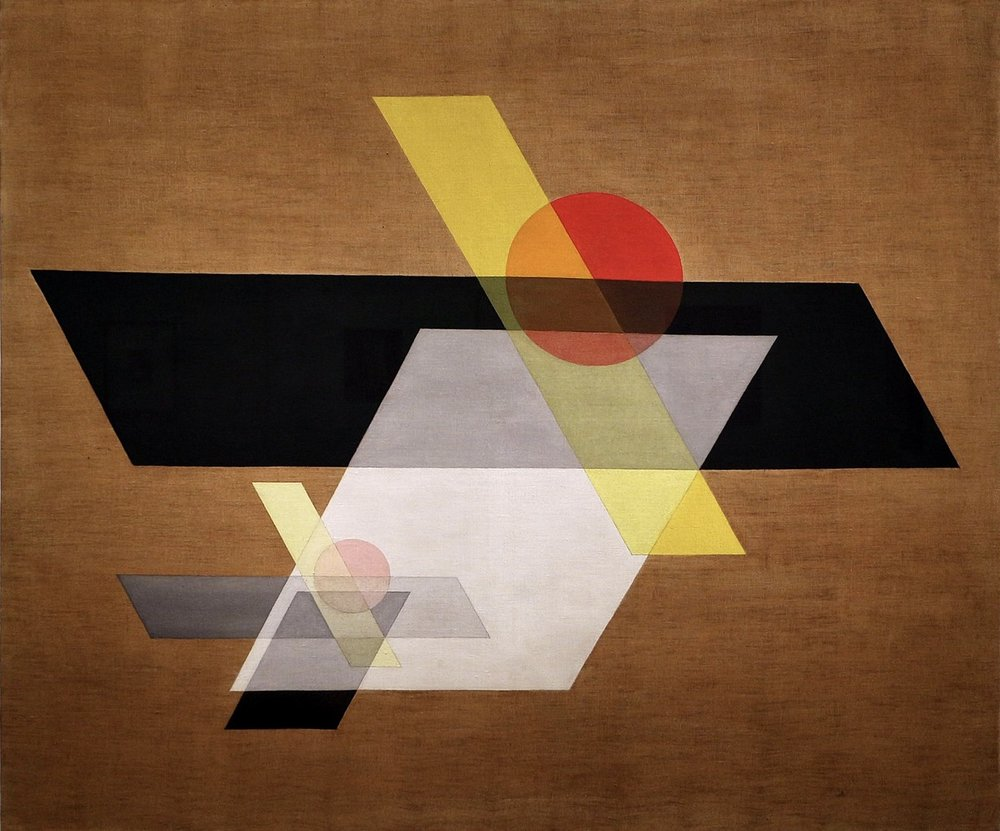 Construction A II, 1924 > László Moholy- Nagy