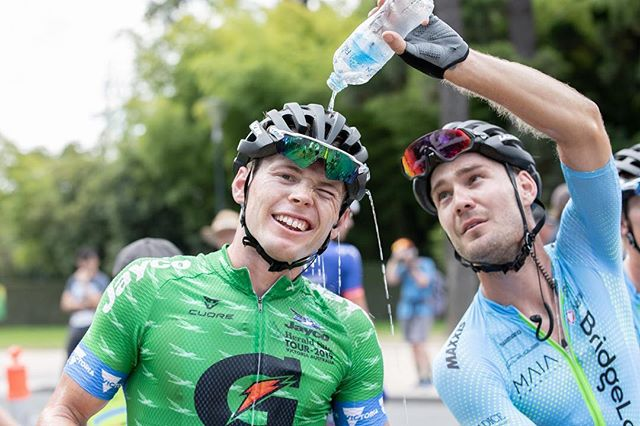And with that the Herald Sun tour is a wrap! @aydentoovey took the sprinters green after holding it from stage 1 and @chrisharper94 showed his class yet again finishing 4th in the GC! The team did us proud and rode fantastically each day.  #heraldsuntour #TeamBridgeLane #TeamworkWinsRaces • • • BridgeLane | @bridgelane_group Shimano | @shimanoaustralia Lusty Imports | @wearelusty Maxxis | @maxxisbikeau  Cycle House | @cyclehouseaus Cervelo | @cerveloaus Nalini | @naliniciclo BunnyHop | @bunnyhopcycling Blue Dinosaur | @bluedinosaurbars Pave the Way | @pavethewaybikefitters Today's Plan | @whatstodaysplan FTP training | @ftp_training Lazer Helmets | @lazersportau  Manly Warringah CC | @mwcycleclub 4iiii | @4iiiicom 📷: @connoor