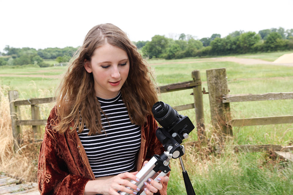 Rose, 17 years old   Fashion & DIY Vlogger, Fashion Rhapsody: Rose loved that she had been able to launch her blog with very small start up costs.