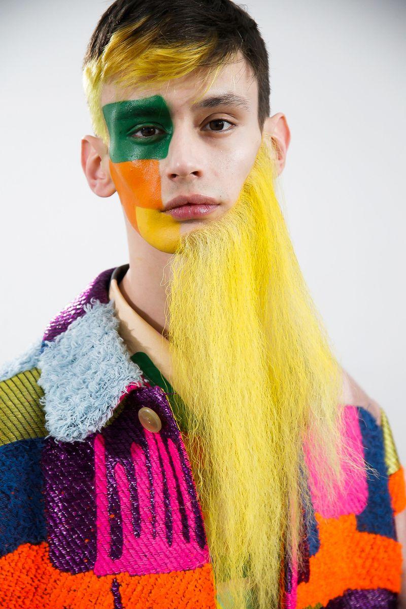 Walter van Beirendonck AW19  Key makeupartist Inge Grognard