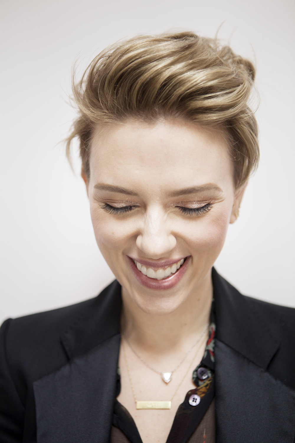 Scarlett Johansson, New York City, 2017.