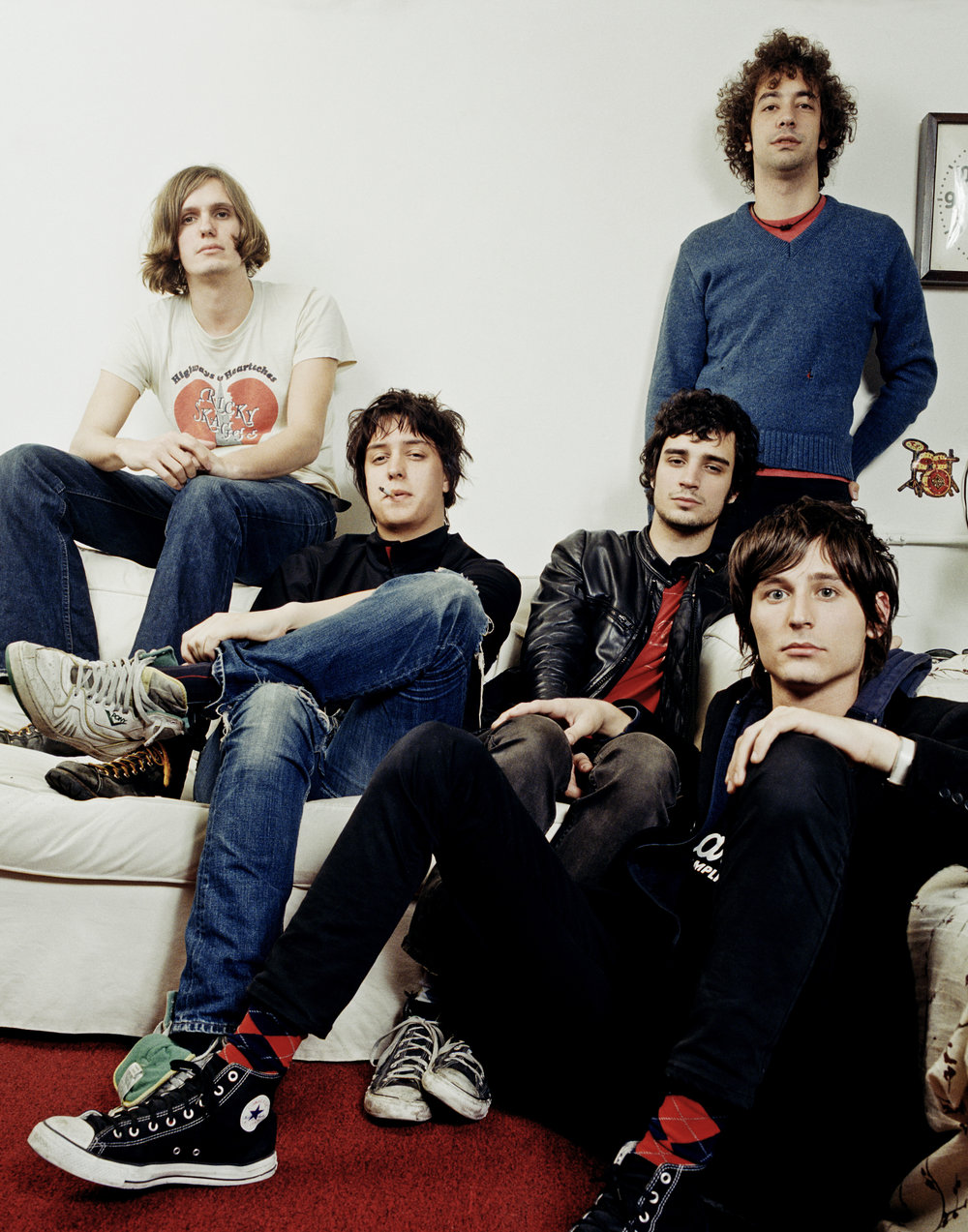 The Strokes, New York City, 2005