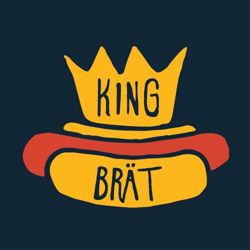 King Brat - A pop-up food stand that serves locally sourced sausages with gourmet toppings using fresh and unique ingredients