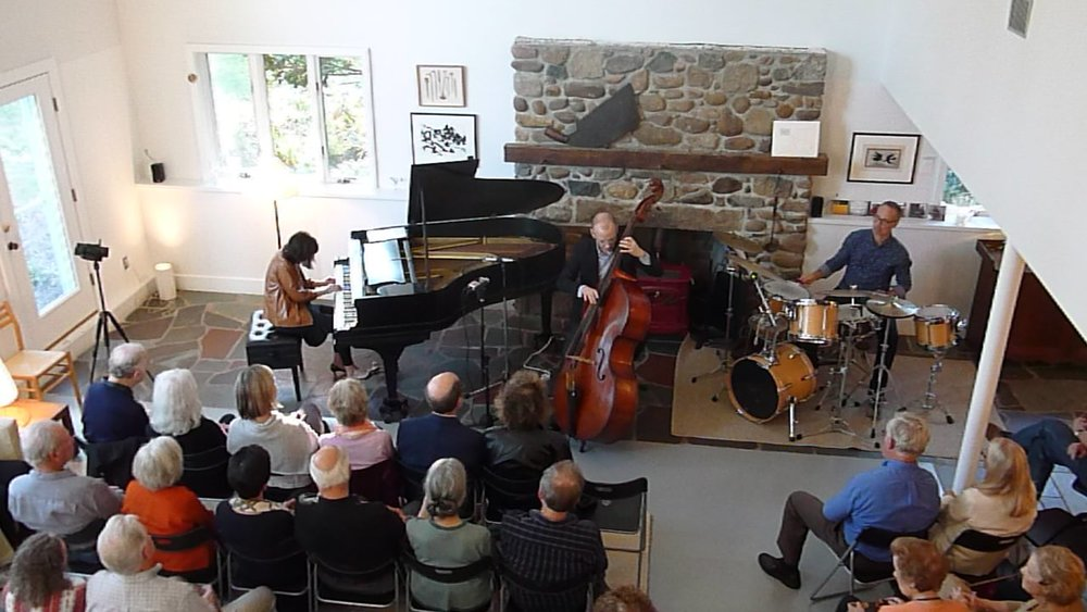 Leslie Pintchik, Scott Hardy, and Michael Sarin at  JazzNights  83