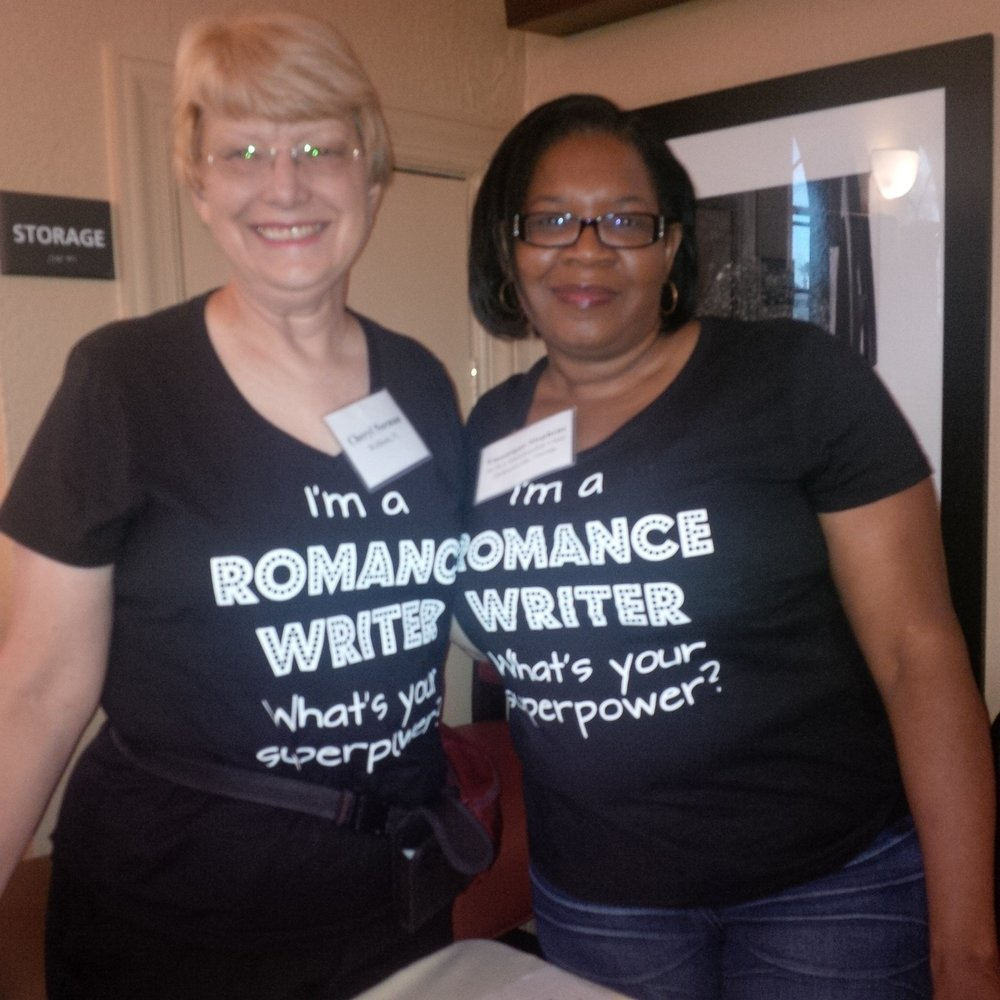 Cheryl Norman, left, pictured with SRP friend Tmonique Stephens.