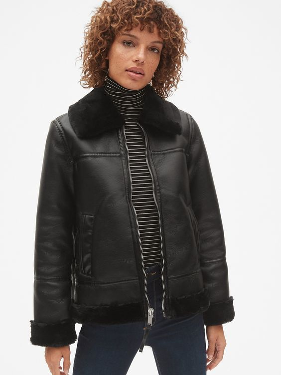 This would make a great 3-season jacket and cute enough for staying warm on nights out