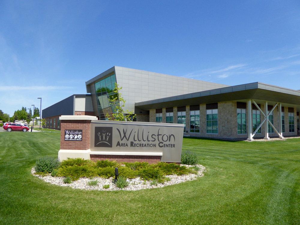 The new Williston Area Recreation Center