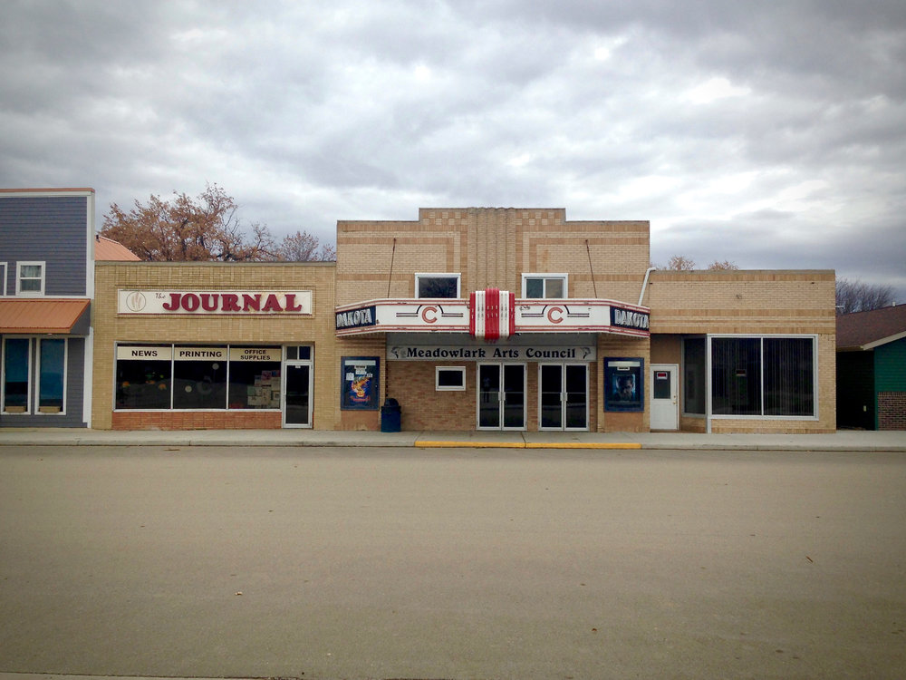 Downtown Crosby, ND