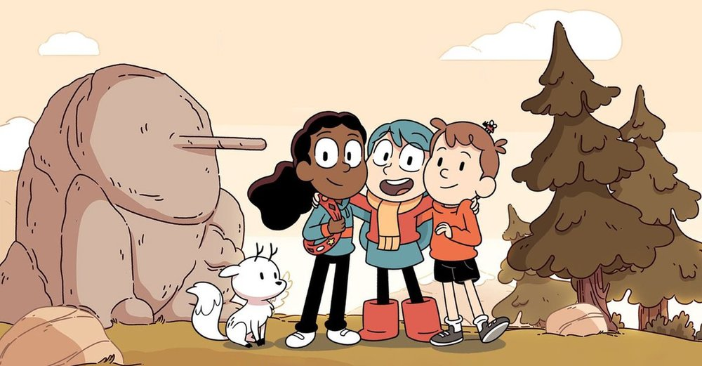 Hilda , a British-Canadian television series which debuted on September 21, 2018 on Netflix.