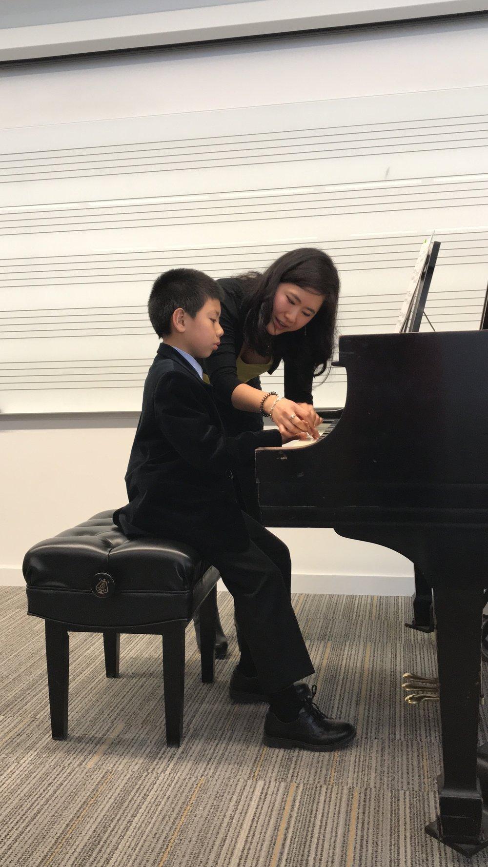 Masterclass at The University of Iowa Pre-College Piano Conservatory (Iowa City, IA)