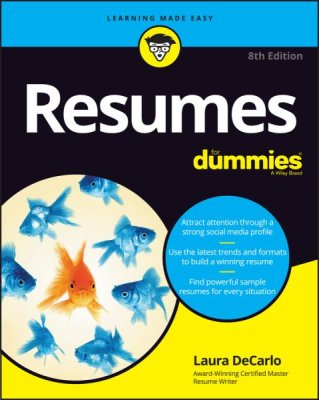 Resumes For Dummies by Laura DeCarlo