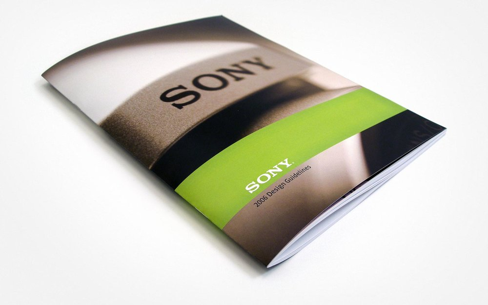 Sony Design Guidelines