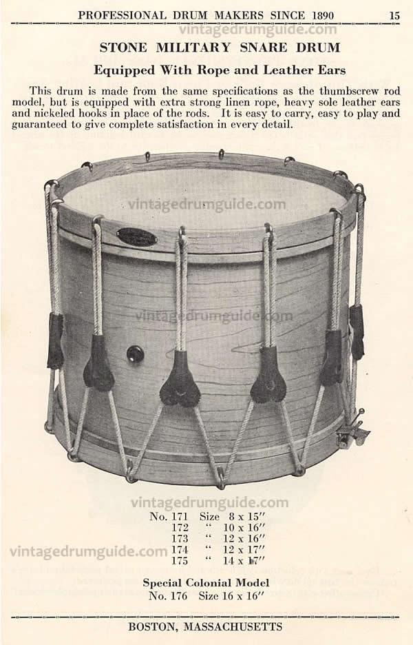 An original Stone Catalog listing for this drum. vintagedrumguide.com