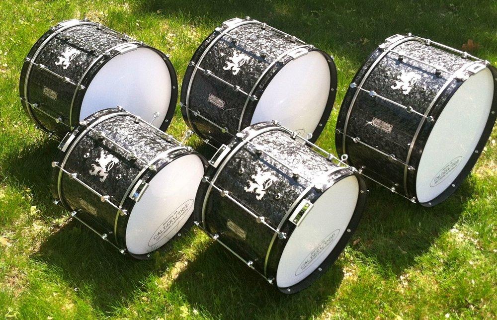 Ultra-light basses for Boston Crusaders Senior Corps
