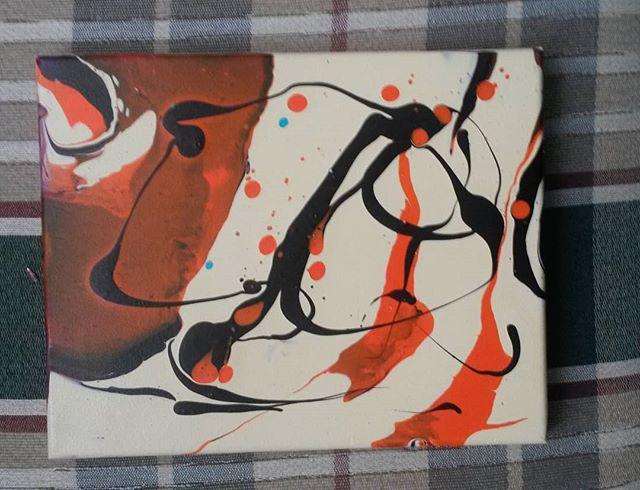 Fluid acrylic.  #abstractpainting #abstractart #abstract #fluidart.jpg