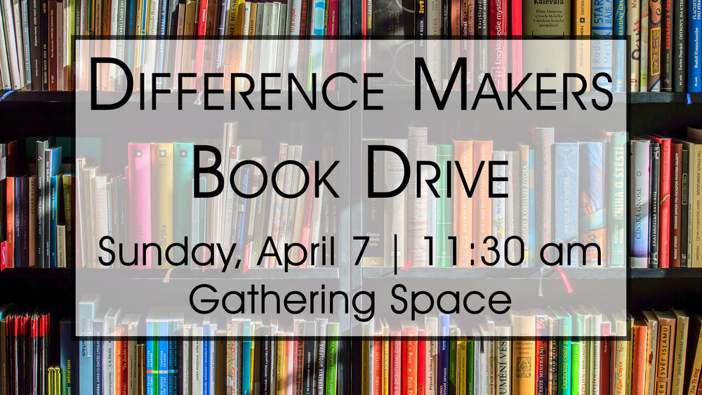 Stop by after service and purchase a book to donate to a Laurel Hills Elementary student! Books at the book drive will be discounted from their MSRP and any proceeds will go toward purchasing more books for the students.