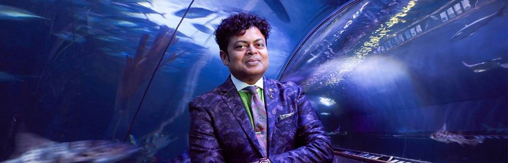 George Jacob, President & CEO of the Aquarium of the Bay, San Franscisco.  Photo source.